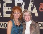 Gail with Reba