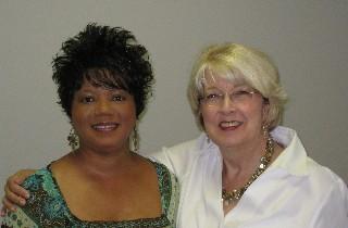 Mary Simon and Gail Showalter