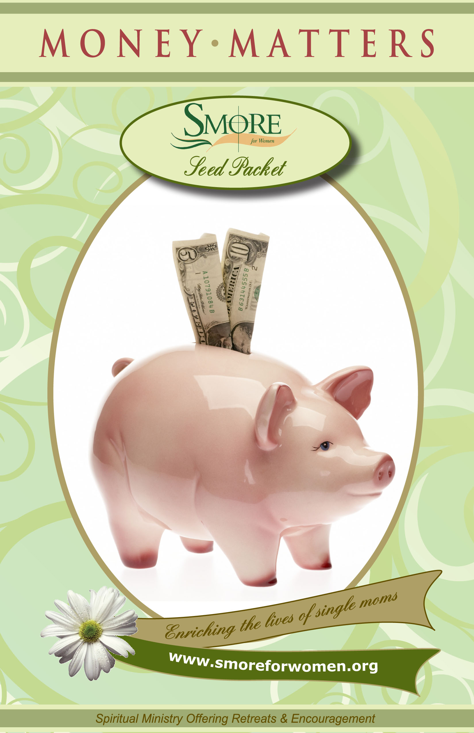 cover with piggy bank on it