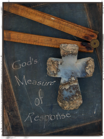 Laurie's graphic for God's response