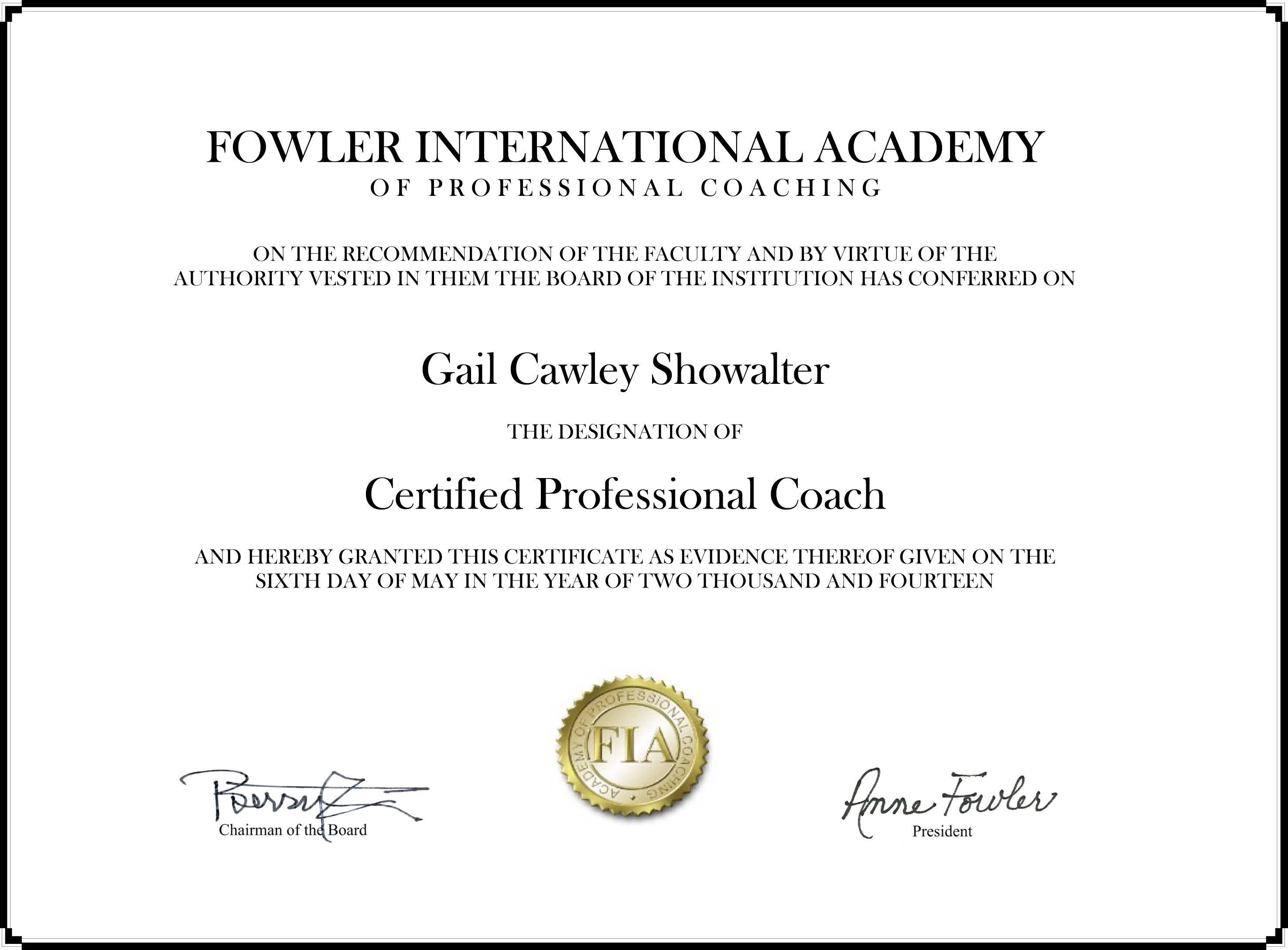 Certified Professional Coach Certificate Wisdom For Women