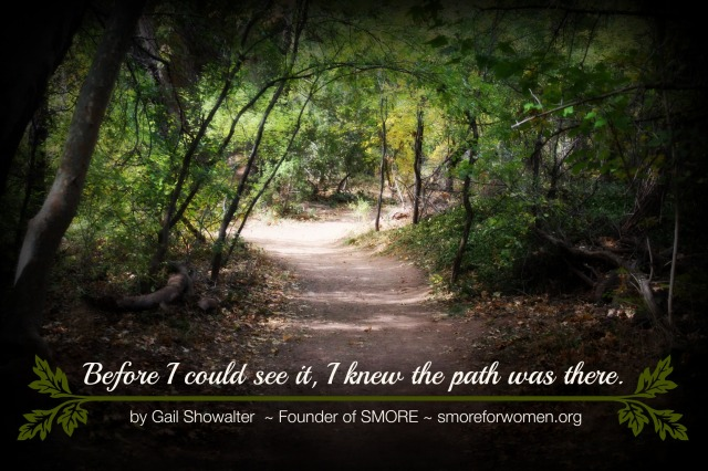 Path quote and photo
