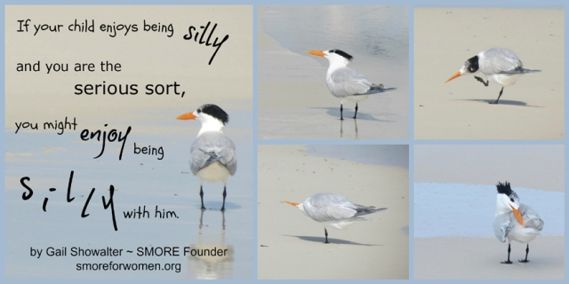Silly quote with sand pipers