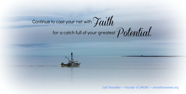 Cast Your Net photo graphic