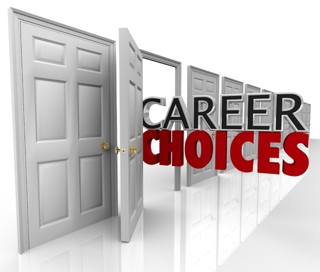 words - career choices - coming from an open door