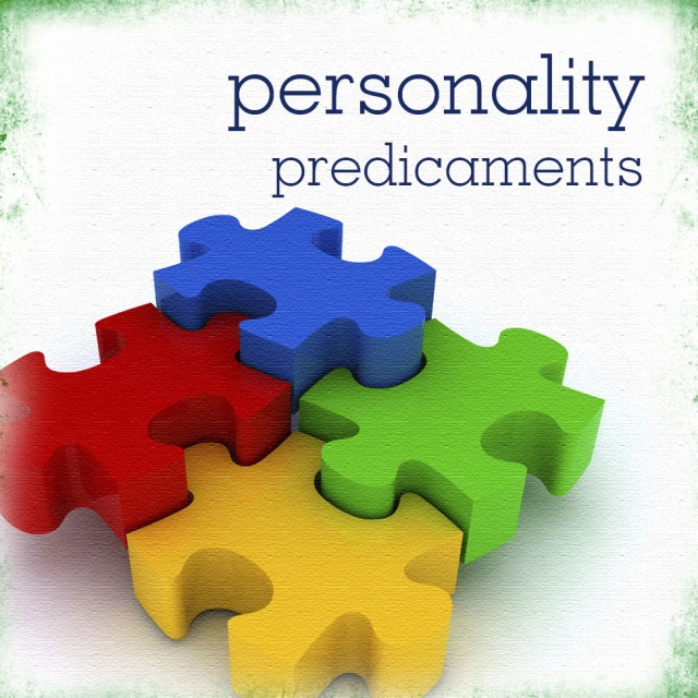 personality predicaments and the four colors in puzzle pieces