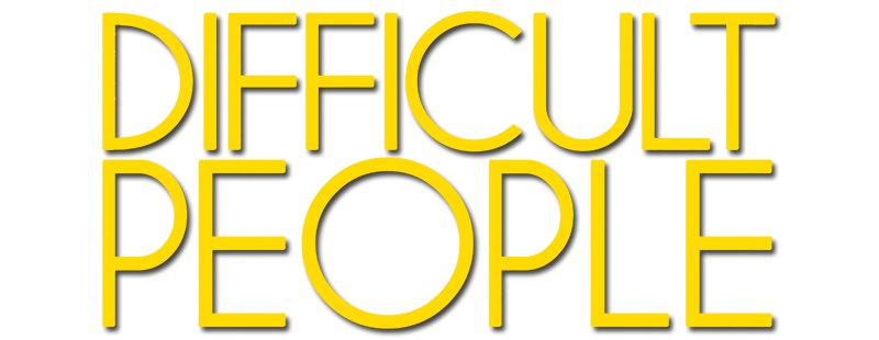 Yellow capitalized words-DIFFICULT PEOPLE