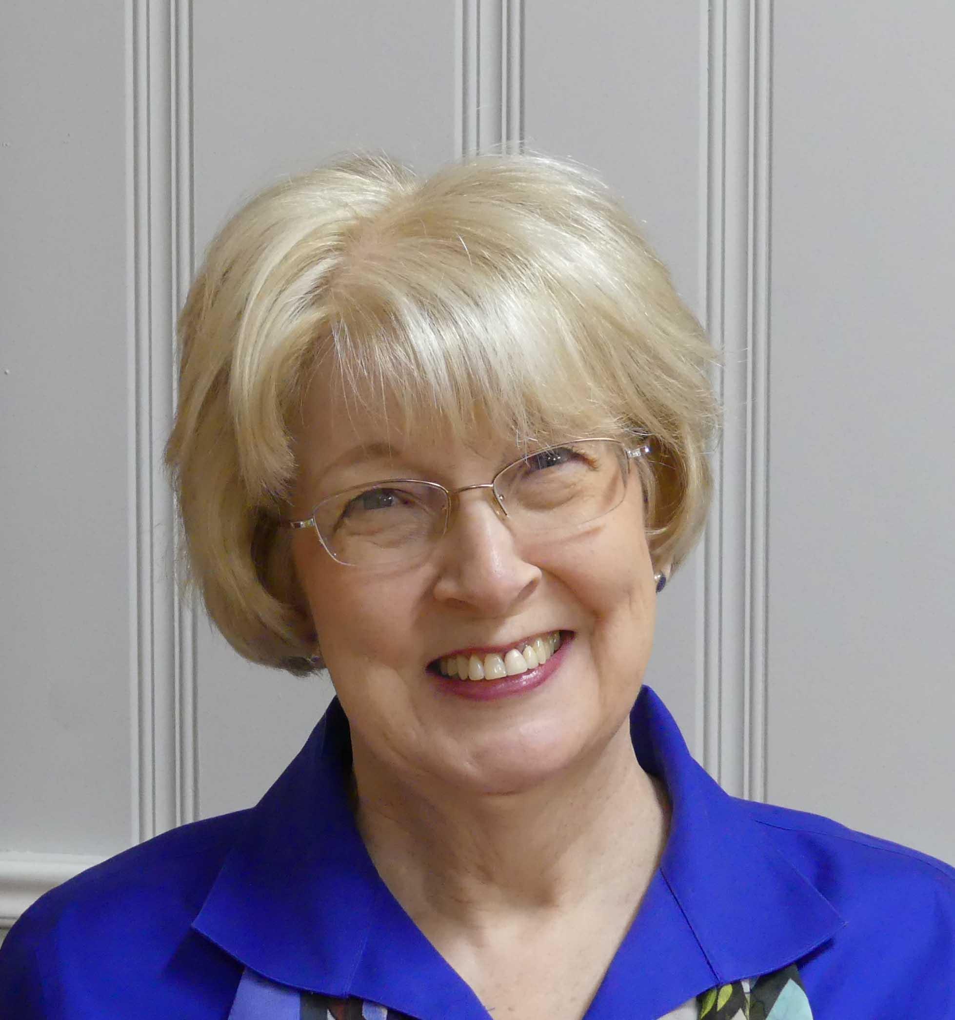 Gail at book signing
