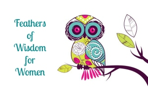 Feathers of Wisdom for Women with colorful owl